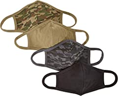 An Amazon Brand Featuring a double layer of lightweight jersey fabric for breathability and comfort, these face coverings have ear loops made of the same fabric for a sturdy and snug, but comfortable fit The CDC recommends the use of cloth face cover...