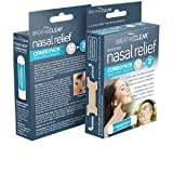 Breathe Clear 2 in 1 Kit with Nasal Inhaler Sticks and Easy Breathing Nasal Strips to Relieve Stuffy Nose, Allergy Symptoms and to Fight The Common Cold, Essential Oil Sinus Relief and Decongestant