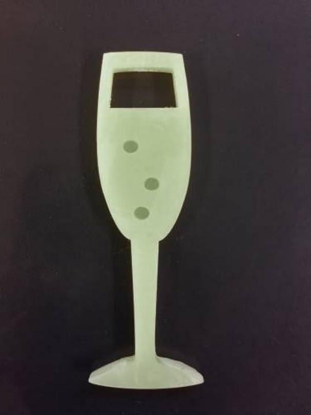 ベンチャー大使機関車GRASSE TOKYO AROMATICWAXチャーム「シャンパングラス」(GR) レモングラス アロマティックワックス グラーストウキョウ