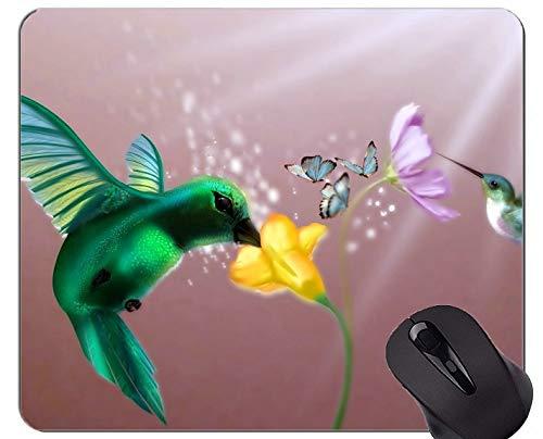 Spiel-Mausunterlage Gewohnheit, Vögel blüht helle Spiel-Mausunterlagen