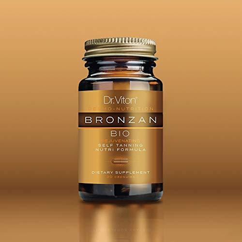 BIO BRONZAN - Bio-Selbstbräunungskapseln mit Anti-Aging-Effekt
