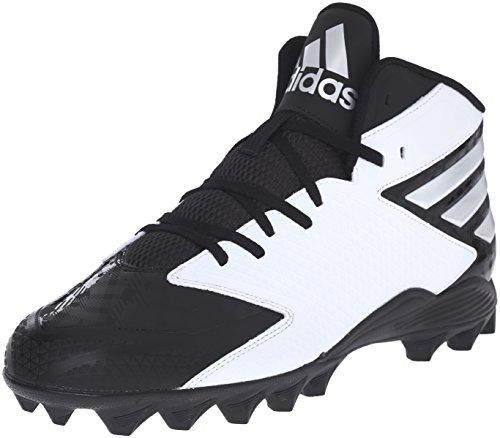 adidas Herren Freak X Carbon Mid Fußballschuh, Schwarz (Black/Platinum/White), 43.5