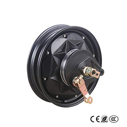 GZFTM Elektromotor Rad Elektrische Scheibenbremse Trommelbremse Änderung Elektrische Bicicleta Electrica 10 Zoll Motor 800W1000W1200W (72V35H1000W Drum Brake)