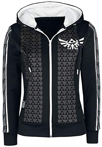 Nintendo The Legend of Zelda Hyrule Frauen Kapuzenjacke Multicolor XL