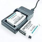 F-MINGNIAN-SPRING Cámaras Quick Battery 2 Pack y Kit de Cargador de Viaje rápido USB Reemplazo Compatible con Nikon ENEL12 EN-EL12 Baterías Recargables de Iones de Litio