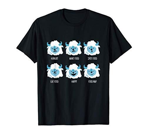Yeti Hungry I Bigfoot Senderismo Al Aire Libre Montaña Camiseta