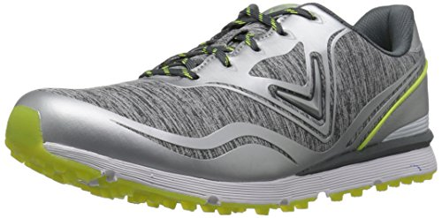 Callaway Women's Solaire Golf Shoe, Grey/Green, 9.5 B US