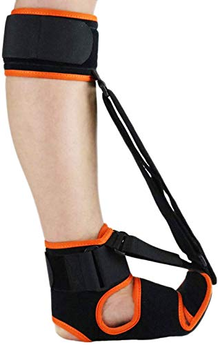 Plantar Fasciitis Night Splint - Breathable, Comfy Plantar Fasciitis Support w/Advanced Stretching Mechanism - Orthotics Support for Achilles Tendonitis, Drop Foot & Pain (Men-11-11.5,Women-12.5-13.5)