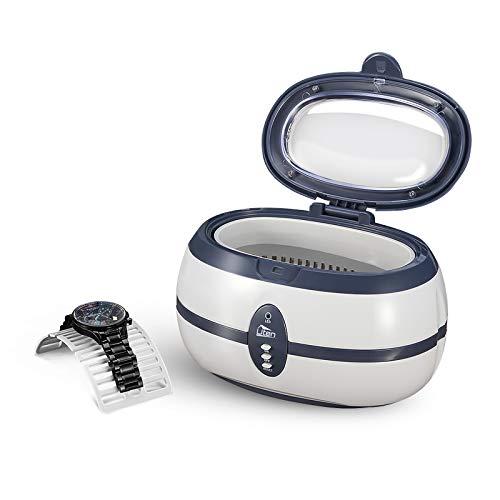 Ultraschallreiniger Ultraschallreinigungsgerät 600ml 35W 40000Hz Digital Ultrasonic Cleaner mit Korb und Halter, für Zahnprothesen Schmuck Uhren Brille Rasierer Münzen usw.