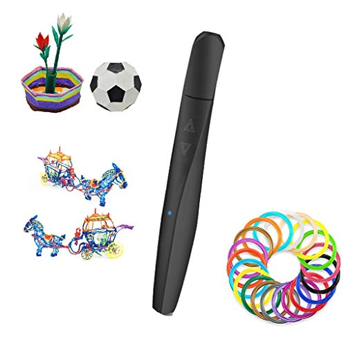 YB3DB Enfants Stylo 3d for Arts Et Métiers 3D Moulage Sculpture Et Doodling Cadeau for Enfants (23 Rouleaux De Fournitures)