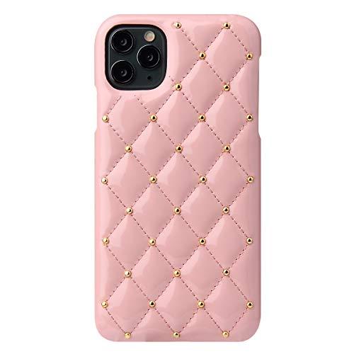 Suhctup - Carcasa Compatible con iPhone 11 Pro de 5,8 Pulgadas, Funda de Piel, Ultrafina, con Revestimiento Textil Antideslizante, Funda para PC rígida para Chica y Mujer