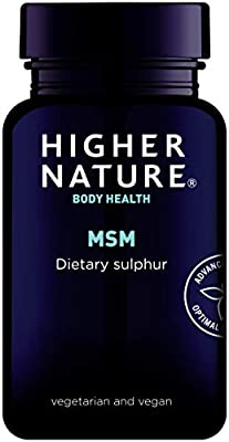 Higher Nature Msm Sulphur 180 Tablets from Higher Nature