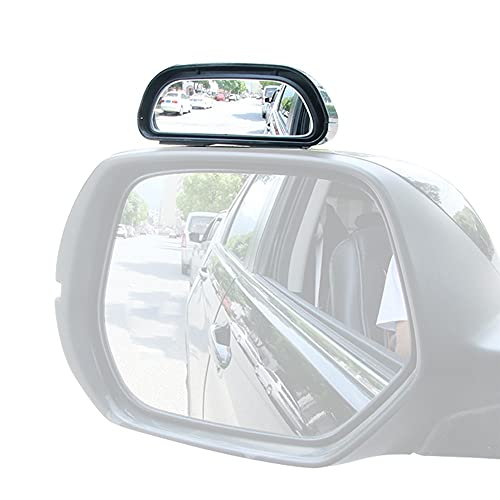 Blind Spot Mirrors, Car Auxiliary Mirror Adhesive Blindspot Rearview Mirror Vehicles Wide Angle Mirror for Cars SUV Trucks
