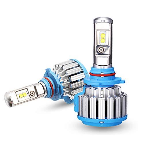 Ampoules De Phare À LED 3300LM 35W 6000K, LED Phare Kit De Ampoule De Rechange Auto,9005