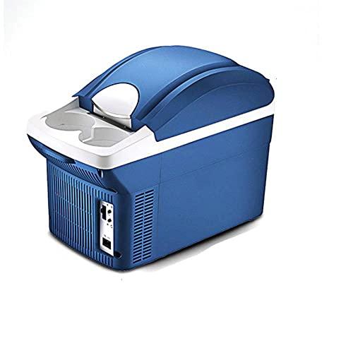 FIONAT Mini refrigerador de calentamiento portátil de 8L, caja de aislamiento de congelador, enfriador de doble uso, calentador para auto, coche, viaje de picnic al aire libre