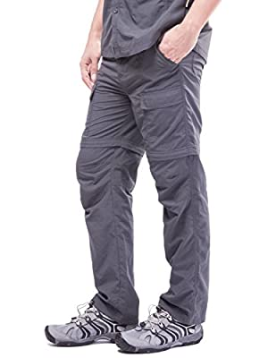 Boys Scout Youth Lightweight Quick-Dry Outdoor Convertible Cargo Hiking Pants