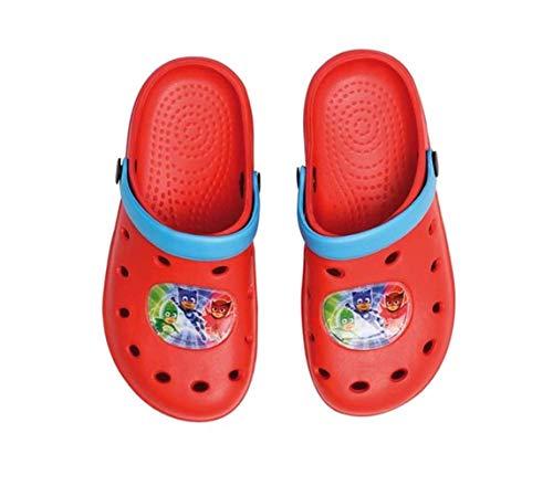 Theonoi PJ Masks Sandales de bain pour enfant en caoutchouc pour intérieur/extérieur - - Pjmasks R., 22/23 EU