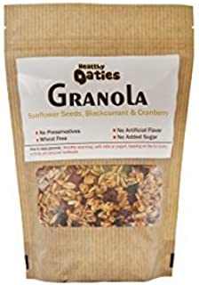Healthy Oaties Handmade Honey And Oats Granola With Sunflower Seeds, Dried Cranberries And Dried Blackcurants - 500Gms