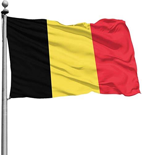 N/A België Vlag Duurzame Tuinvlaggen Seizoensgebonden Thuis Decoratief voor Binnen & Buiten (4x6 Ft)