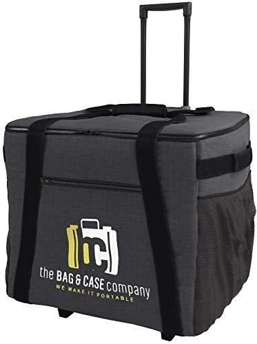 Bag and Case Company Tasche für Drucker mit ausziehbarem Griff und Rollen, passend für DNP DS620A, DS40, DS-RX1HS, DS820A, Mitsubishi CP-K60DW-S, CP-D90DW, CP-9550DW, CP-D70DW, Sinfonia CS2