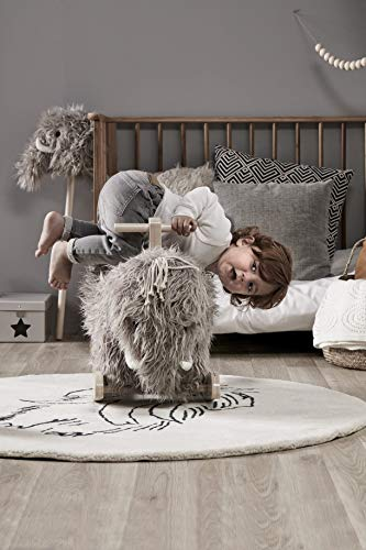 Kids Concept 413761 Schaukelpferd NEO Mammut – Schaukeltier ab 18 Monate - 5