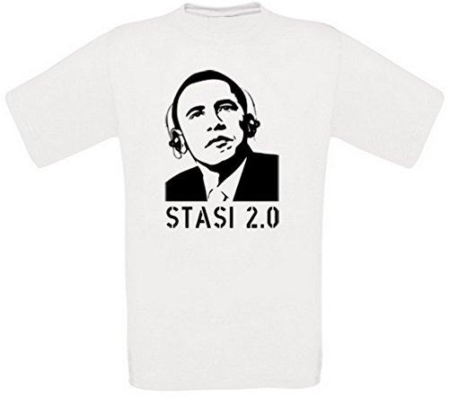Obama Stasi 2.0 T-Shirt (L)