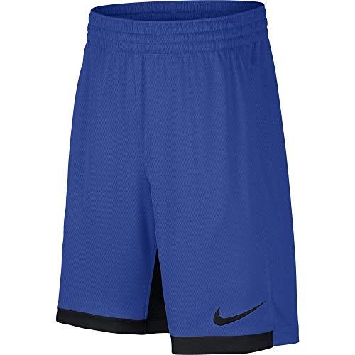 "Nike 8"" Dry Short Trophy, Dri-FIT Boys' training shorts, Athletic shorts, Game Royal/Black/Black, XL"