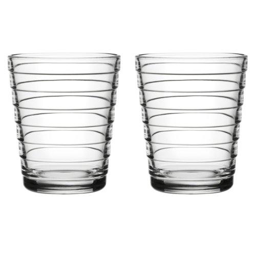 Iittala 1008545 glazen set Aino Aalto 2-delig 0,22 L, helder