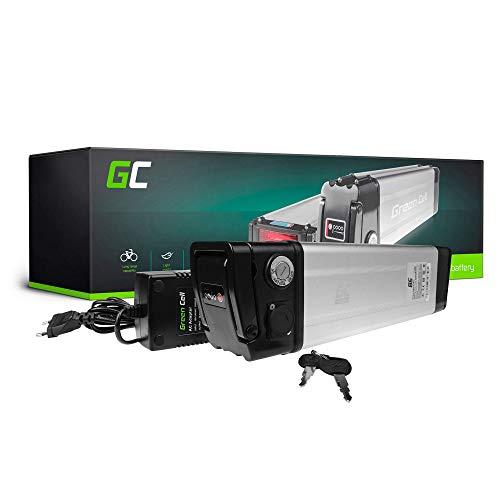 GC® E-Bike Akku 24V 27.2Ah Batterie Pedelec Silverfish mit Ladegerät und Li-Ion Panasonic Zellen Visiobike IGO Voltitude Wisper