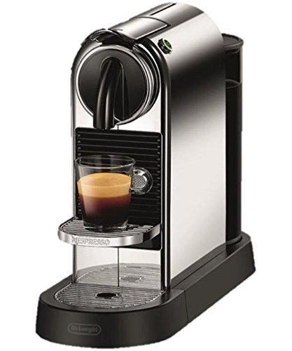 DeLonghi EN 166.C Kapsel-Kaffeemaschine aus Edelstahl, autonom und vollautomatisch, kompatibel mit Kaffeekapseln von Nespresso, 1l