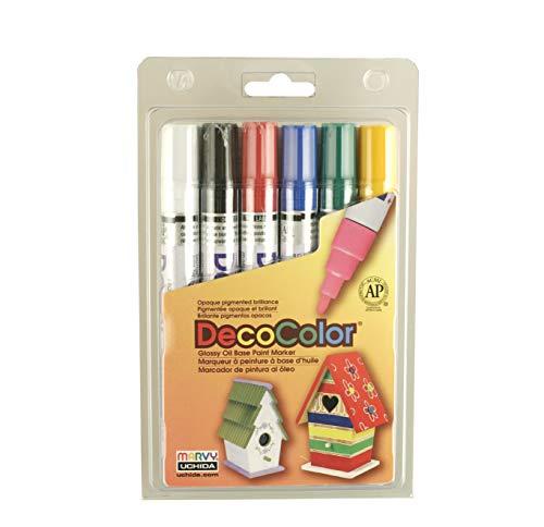 Uchida 6 PC Decocolor Broad Point Paint Marker Set $8.38 (59% Off)