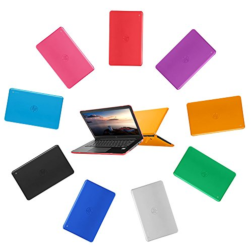 """mCover Hard Shell Case for 14"""" HP Chromebook 14 G5 / 14-CA / 14-DB Series (NOT Compatible with Older HP C14 G1 / G2 / G3 / G4 Series) laptops (HP C14-G5 Aqua)"""