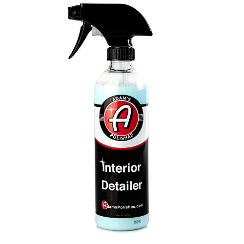 Adam's Interior Detailer 16oz - Clean and Dress Interior Surfaces in One Easy Step - Odor...