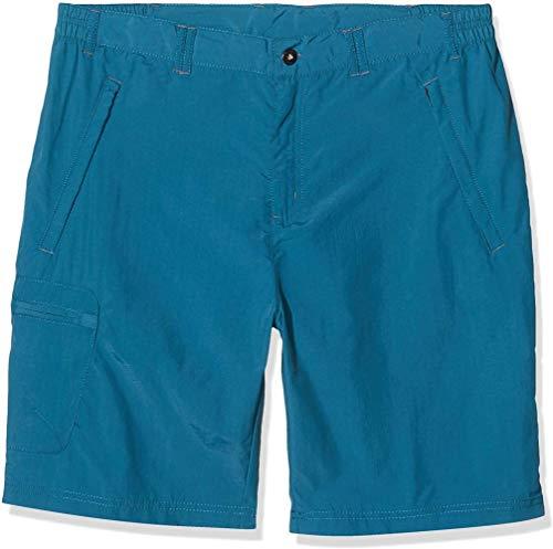 ZPN Short de randonnée Actif léger et déperlant pour Homme , Bleu (Bleu de mer), 42 Pouces