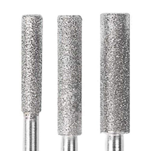 lynn Diamond - Afilador de cabeza de motosierra de diamante para pulido de piedra de lima, sierra de cadena de metal