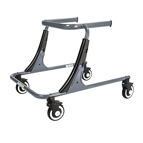 Inspired by Drive Moxie GT Gait Trainer, Sword Gray, Large