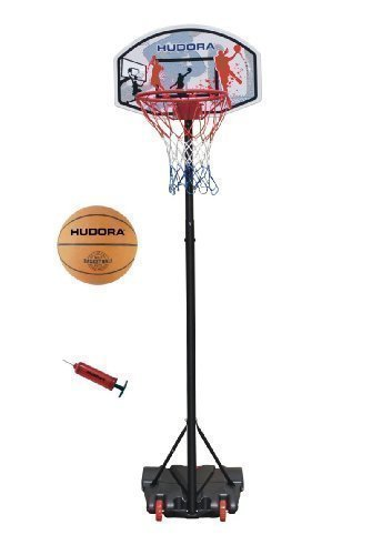 Hudora Basketballständer All Stars Ball und Pumpe 71665 by All Stars