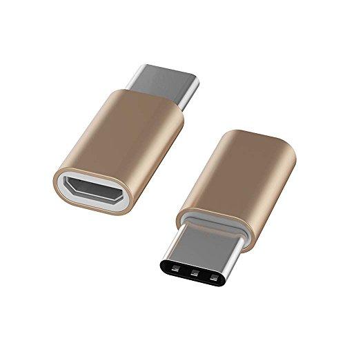 Demarkt USB C adaptador a Micro USB/USB C a Micro USB convertidor para Samsung Galaxy S9S8Plus/Note 8/A3/A52017OnePlus 2/3Huawei P9/P10