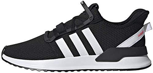 adidas Originals Men's U_Path Run Sneaker, Core Black/White/Shock Red, 7.5