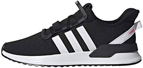 adidas Originals Men's U_Path Run Sneaker, Core Black/White/Shock Red, 12