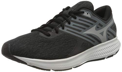 Mizuno Ezrun LX 2 Zapatillas de Running, Hombre, Negro (Black/Silver/Stormy Weather 03), 43 EU
