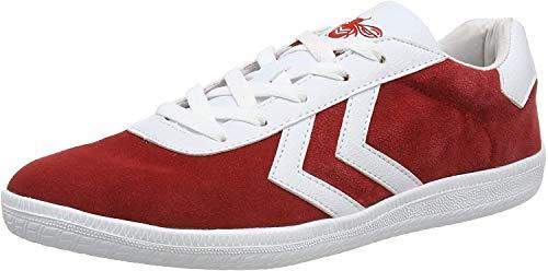 hummel Herren Off-Field Sneaker, Rot (Rot/Weiß Rot/Weiß), 41 EU