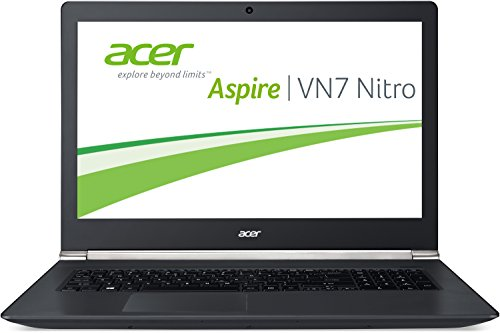 Acer Aspire VN7-791G-78MG 43,94 cm (17,3 Zoll Full HD IPS) Laptop (Intel Core i7-4720HQ, 8GB RAM, 500GB SSHD, NVIDIA GeForce GTX 950M, DVD, Windows 10 Home) schwarz