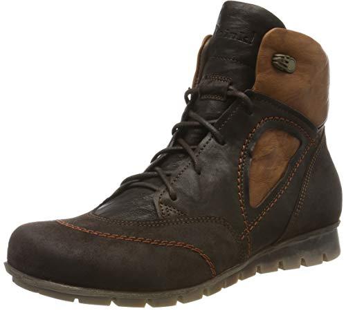 Think! Damen Menscha_585076 Desert Boots, Braun (Espresso/Kombi 42), 40.5 EU