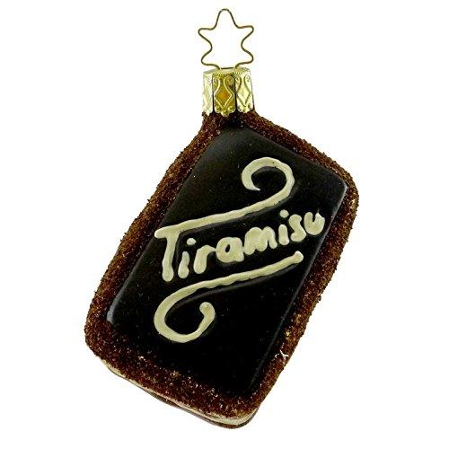 INGE GLAS Tiramisu Blown Glass Desert Ladyfingers Italian 68112
