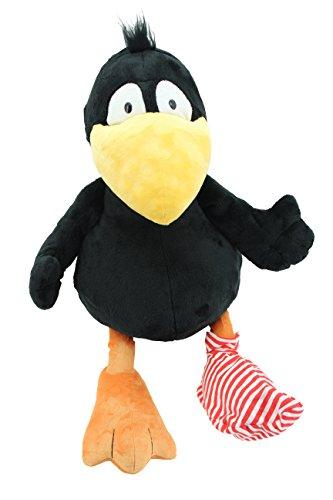 Sweety-Toys 6175 Der Kleine Rabe Socke Plüschfigur 70 cm
