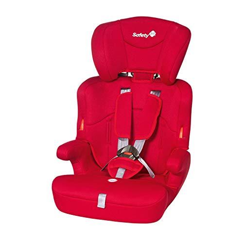 Safety 1st Ever Safe kinderzitje, meegroeiende groep 1/2/3 autostoel (9-36 kg), vanaf ca. 12 maanden tot 12 jaar, verschillende kleuren. Rood (Full Red)