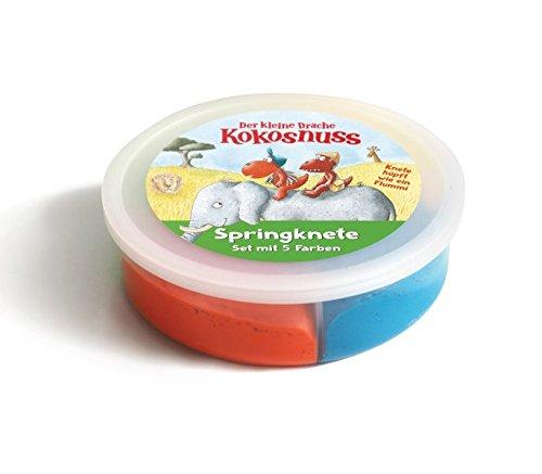 Cbj Der kleine Drache Kokosnuss - Springkneten-Set: 4 Farben