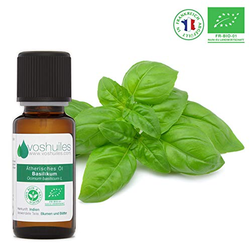 Bio Basilikum Ätherisches Öl - 20ml