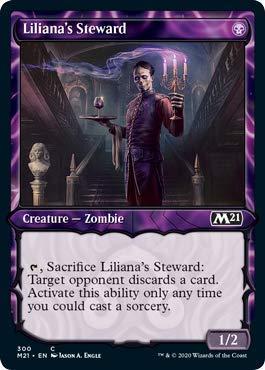 Magic: The Gathering - Liliana's Steward - Foil - Showcase - Core Set 2021